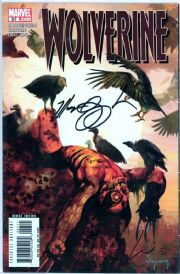 Wolverine #57 Dynamic Forces Signed Chaykin & Guggenheim DF COA Ltd 40 Marvel comic book